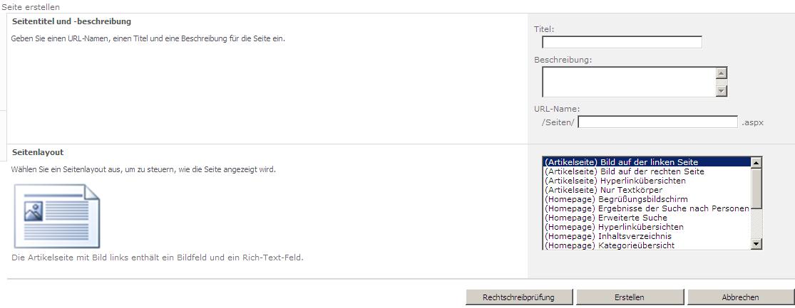 SharePoint 2010: Website-Vorlage per SharePoint-Designer 2010 ...
