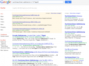 Suchmaschinen optimieren in 10 Tagen