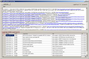 Logfile nach Suchbegriffen analysieren