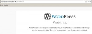 WordPress › liesmich